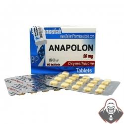 Anapolon Oxymetholone Balkan Pharma 100tab