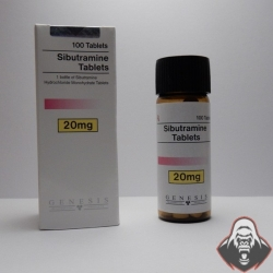 Sibutramine Tablets Genesis (20 mg/tab) 100 tabs