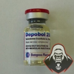 Depobol 250, Testosterone Enanthate, European Pharmaceutical
