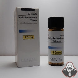 Methyltestosterone Tablets Genesis (25 mg/tab) 100 tabs