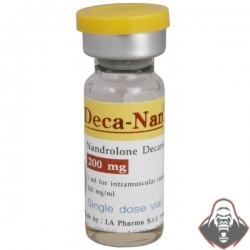 Deca-Nan (Nandrolone Decanoate) by LA Pharma 200mg/ml vials